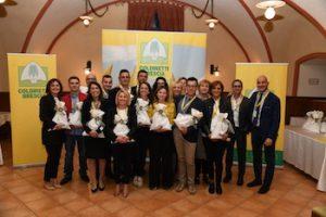 Staff Coldiretti premiato per progetto scuole 2018/2019