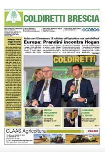 Prima pagina mensile Coldiretti Brescia 4/2019
