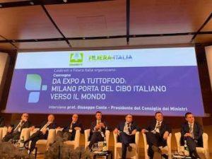 Milano centro dell'agroalimentare made in Italy nel mondo