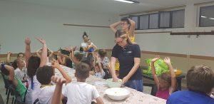dalla farina ai biscotti, progetto cibo sano a Mazzano