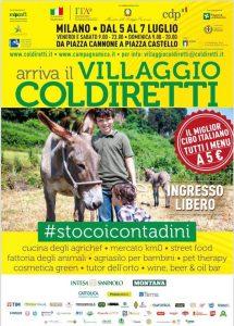locandina Villaggio Coldiretti 2019