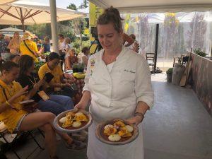 Show-cooking con l'agrichef Tiziana Porter