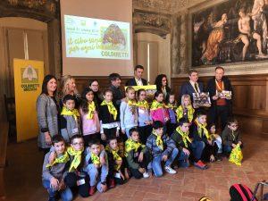 Progetto scuola Coldiretti, i bimbi di Pertica Alta premiati lo scorsa edizione