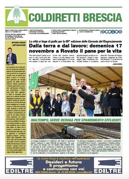 Mensile Coldiretti Brescia 10/2019