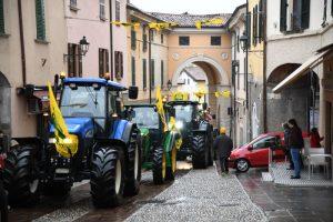 Sfilata dei trattori a Rovato per il Ringraziamento 2019
