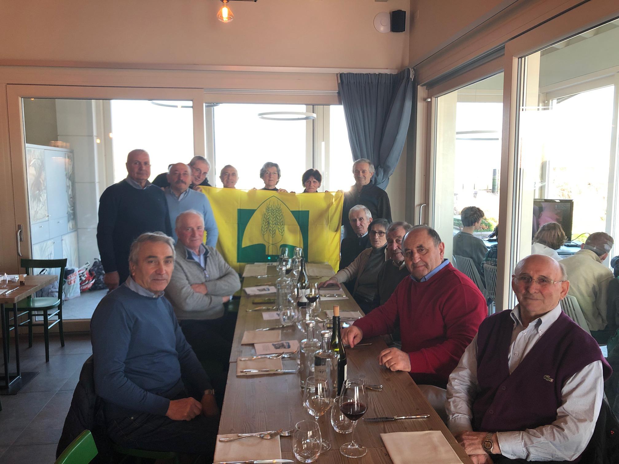 Gruppo Senior, l'incontro natalizio al Colmetto di Rodengo Saiano