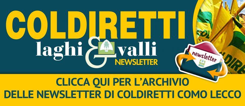 L'archivio 2020 delle newsletter di Coldiretti Como Lecco