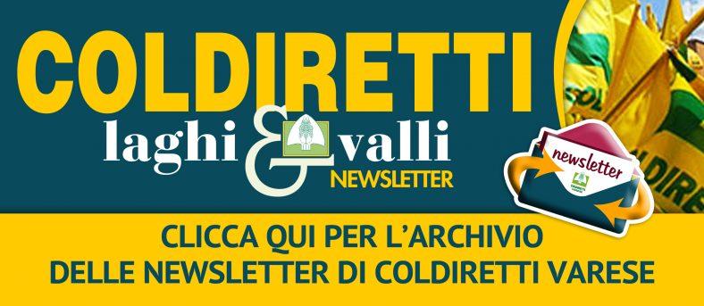 L'archivio 2020 delle newsletter di Coldiretti Varese