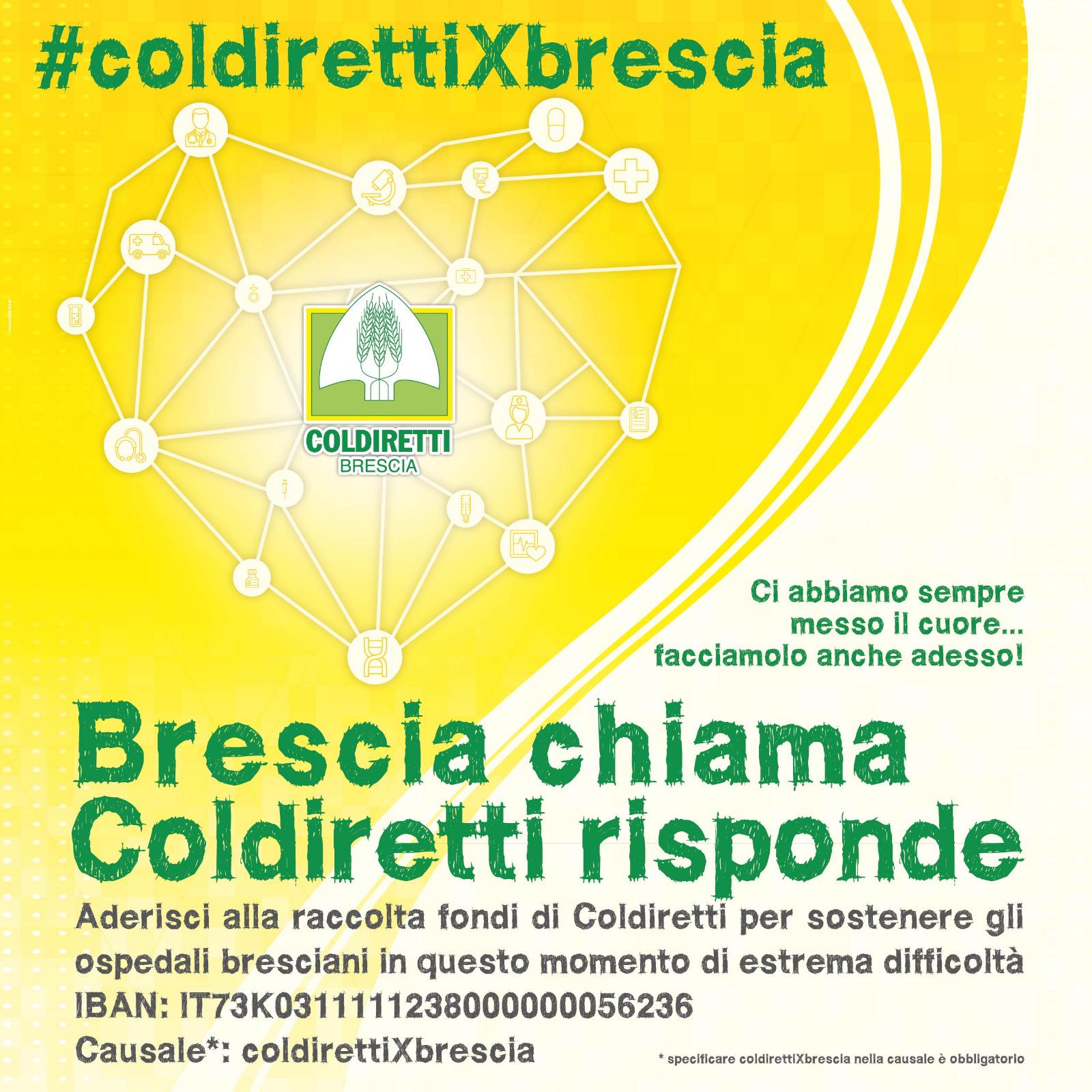 Raccolta fondi coldirettiXbrescia