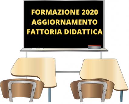 Formazione 2020, aggiornamento fattoria didattica
