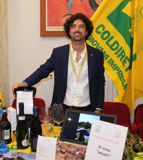 Luigi Biolatti vincitore della categoria Impresa 5.Terra