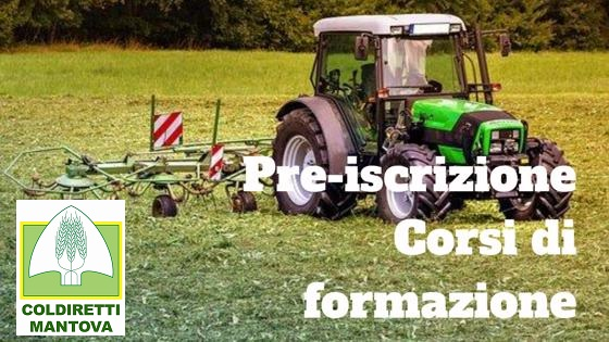 Preiscrizione Corsi di Formazione – Mantova