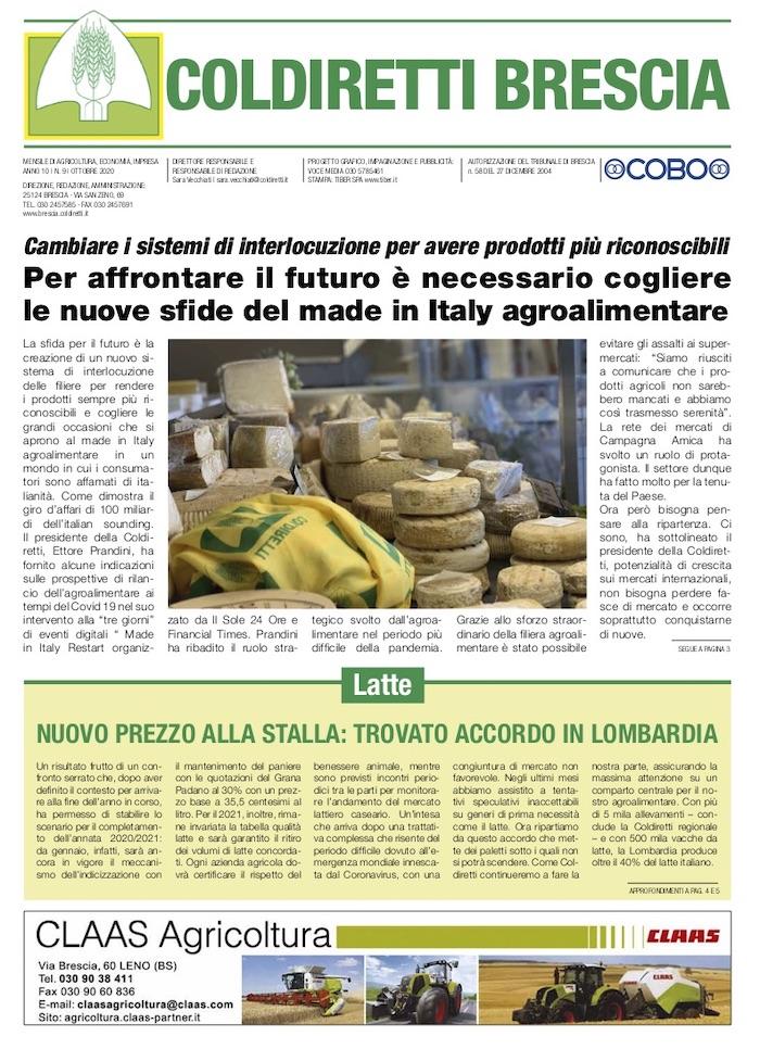 Mensile Coldiretti Brescia 9/2020