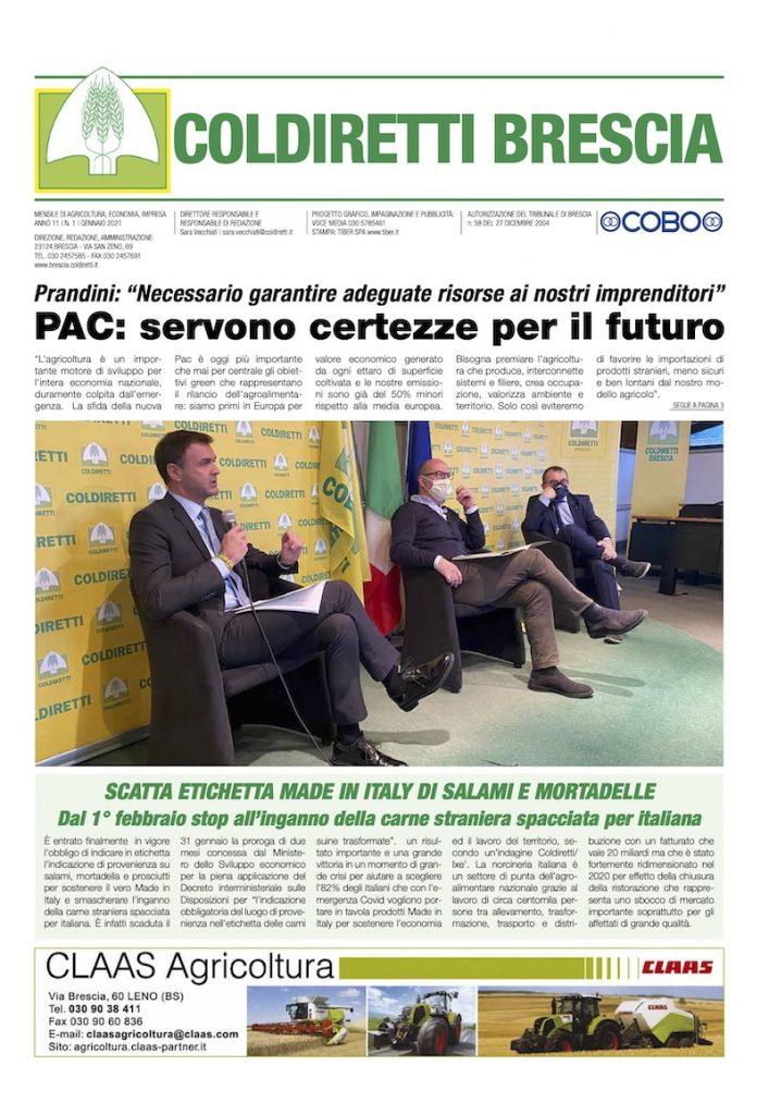 Mensile Coldiretti Brescia 1/2021