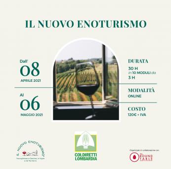 Enoturismo, Coldiretti Lombardia: al via corso online per operatori