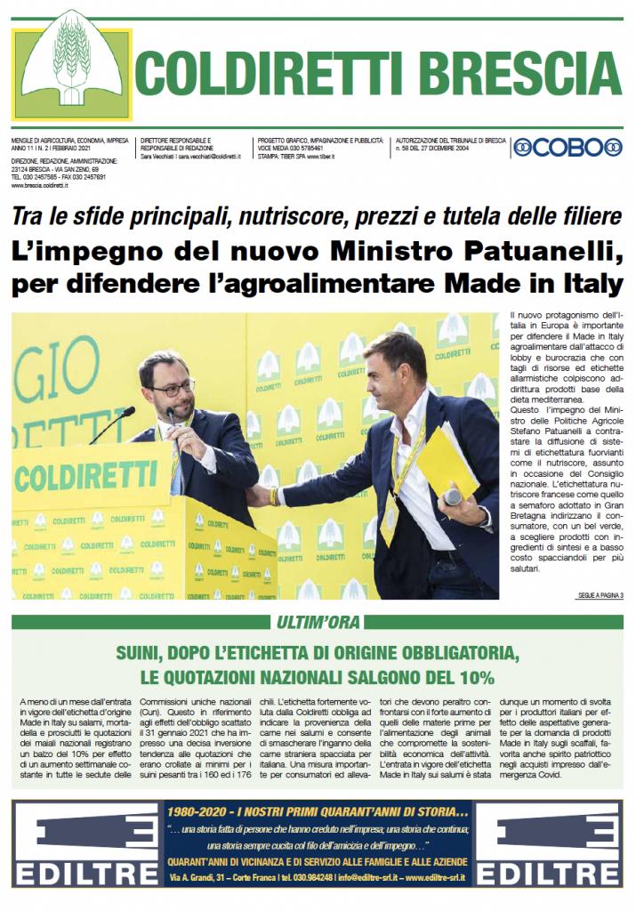 Mensile Coldiretti Brescia 2/2021