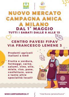 Apre il mercato al Centro Pavesi di Milano