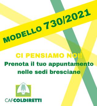 Campagna 730/2021 Caf Coldiretti