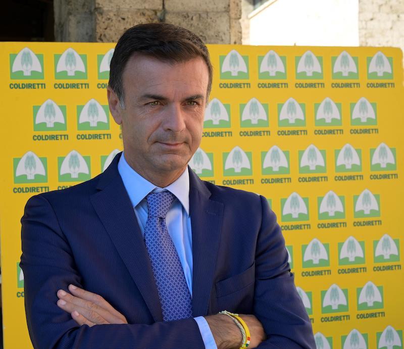 Il presidente di Coldiretti Ettore Prandini