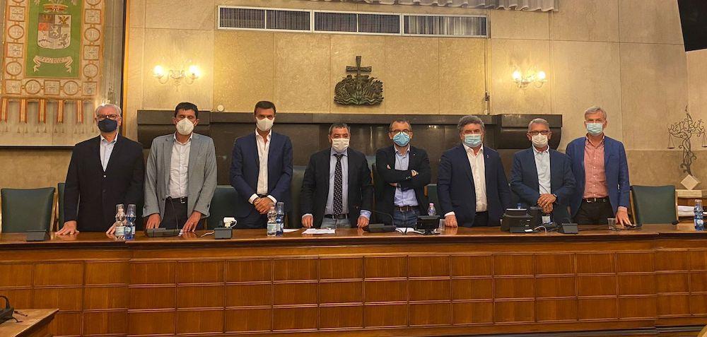 Fermata TAV Basso Garda: i relatori della conferenza stampa
