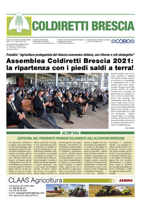 Mensile Coldiretti Brescia 7/2021