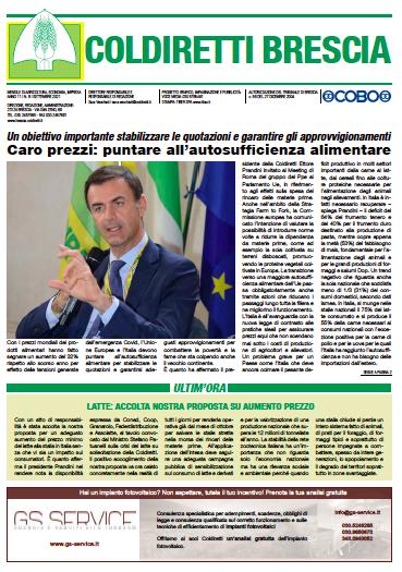 Menile Coldiretti Brescia 8/2021